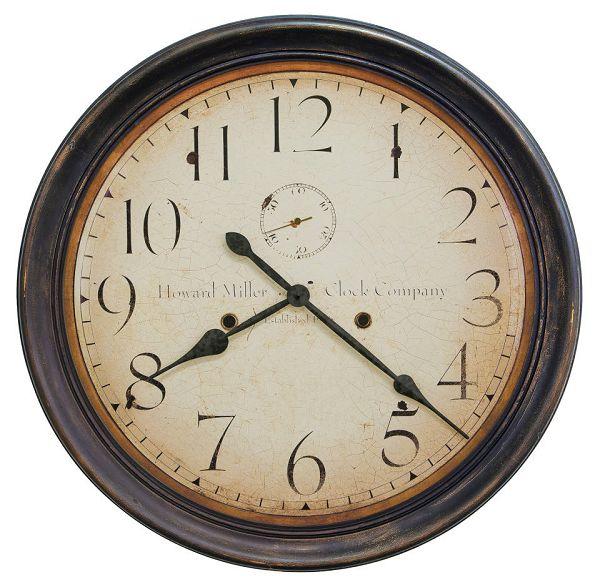 アンティーク調でお洒落!ハワード・ミラーHoward Miller社製掛け時計 Squire 625-627 大型掛け時計