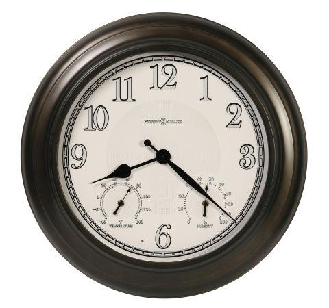 外でも使えて便利です!ハワード・ミラーHoward Miller社製掛け時計 屋内・屋外兼用 Briar Outdoor Wall Clock 625-676 大型掛け時計