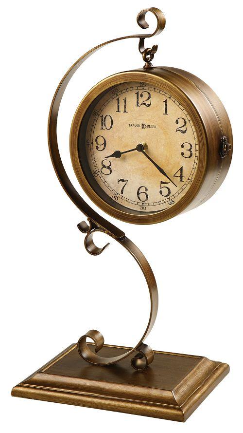 アンティーク調でお洒落 ハワードミラー Howard ラッピング無料 Miller置き時計 ハワードミラー両面Table 635-155 JENKINS Clock 激安挑戦中