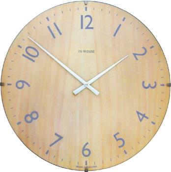 INHOUSEインハウス掛け時計ドームクロック NW31CA ビーチウッドΦ29cm INHOUSE掛け時計【送料無料】【楽ギフ_のし】【楽ギフ_メッセ入力】【楽ギフ_名入れ】
