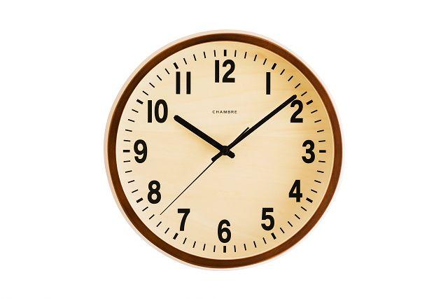 シャンブル掛け時計  PUBRIC掛け時計  CHAMBRE掛け時計  CH-027CB  カフェブラウン