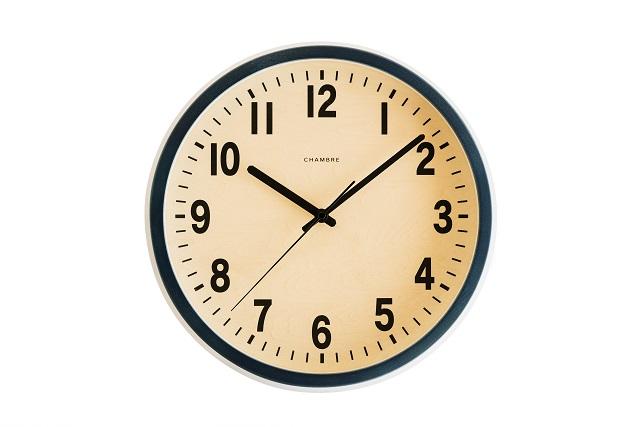 シャンブル掛け時計 PUBRIC掛け時計  CHAMBRE掛け時計  CH-027NV ネイビー