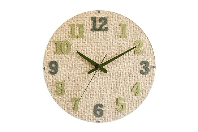 CHAMBRE壁掛け掛け時計 HEMP掛け時計 CHAMBRE CH022GR