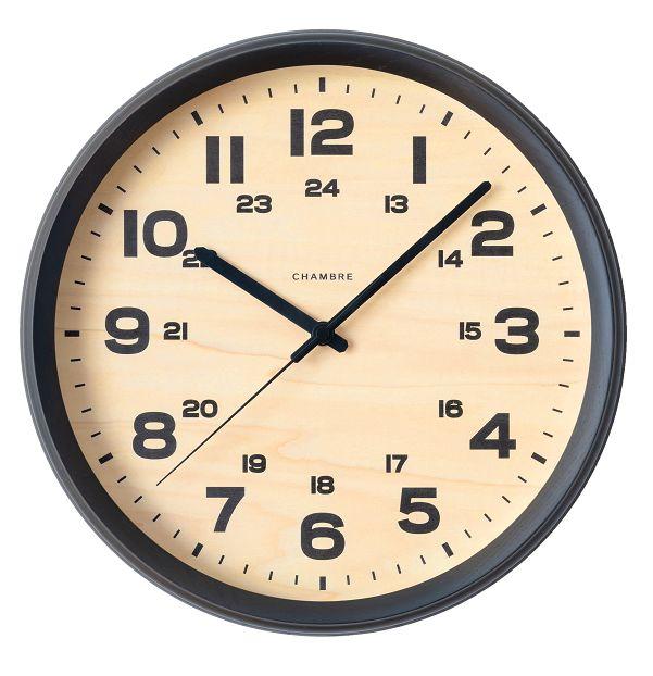 BRAM CLOCK ブルックリンスタイル 掛け時計  CHAMBRE CH-050CG チャコールグレイ