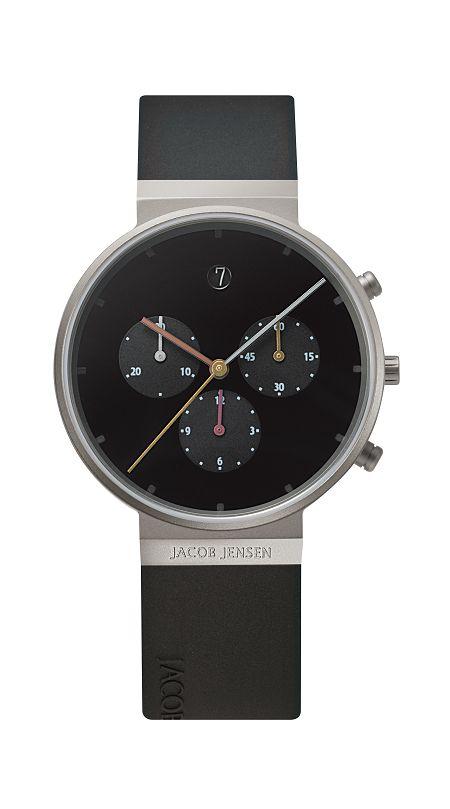 JACOB JENSEN腕時計 メンズリストウォッチ Chronographクロノグラフ JJ600 ヤコブ イェンセン腕時計