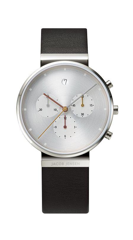 JACOB JENSEN腕時計 メンズリストウォッチ Chronographクロノグラフ JJ606 ヤコブ イェンセン腕時計