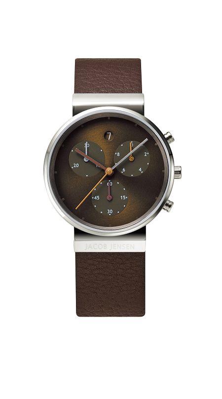 JACOB JENSEN腕時計 レディースリストウォッチ Chronographクロノグラフ JJ614 ヤコブ イェンセン腕時計