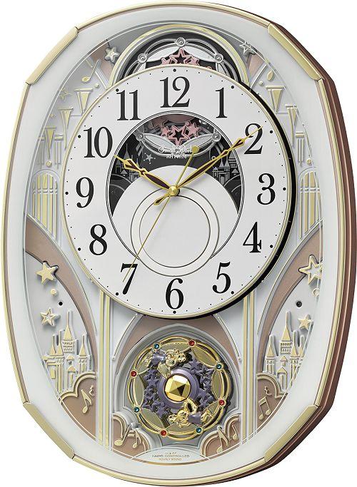 からくり時計 スモールワールド ノエルS 4MN551RH03名入れ 壁掛け時計 掛け時計 送料無料