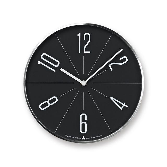 Lemnos壁掛け時計 レムノス掛け時計 GUGU シルバー AWA13-02SL