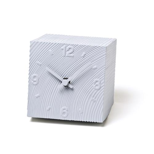 Lemnos レムノス 置き時計 cube AZ10-17GY