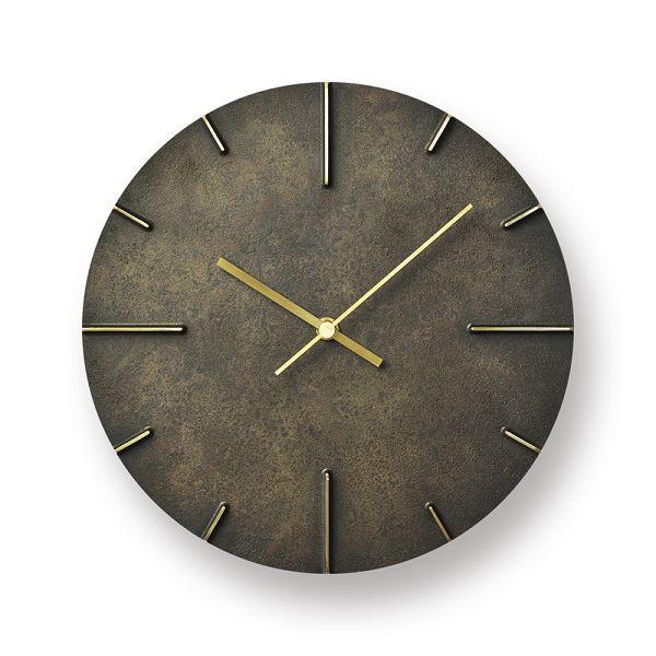 Lemnos レムノス掛け時計 Quaint  クエィント 真鍮 斑紋黒染色 AZ15-06BK