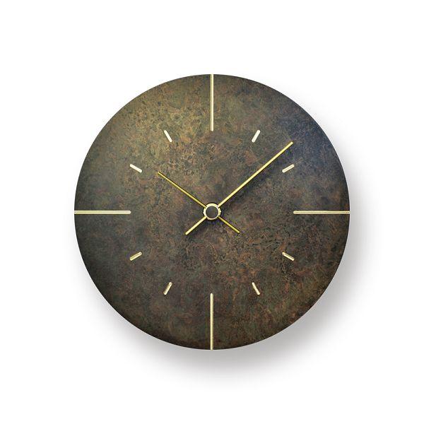 Lemnos レムノス掛け時計 Orb  オーブ 真鍮 斑紋黒染色 AZ15-07BK