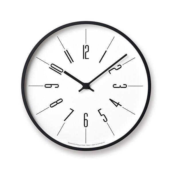 Lemnos レムノス 掛け時計  時計台の時計 電波時計 KK17-13