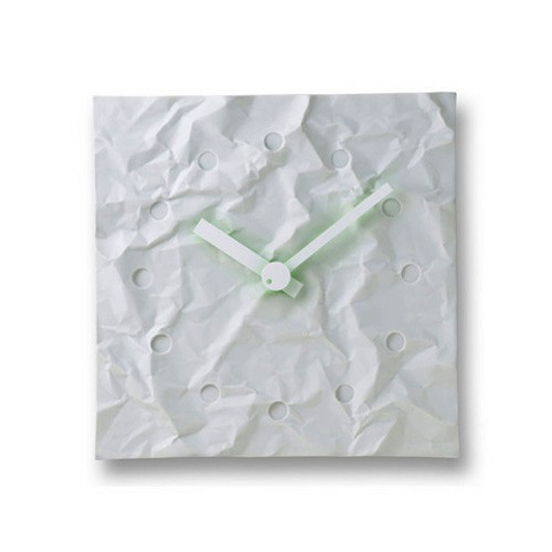 Lemnosレムノス掛け時計 CRINKLE CLOCK MKL08-23A Lemnos掛け時計