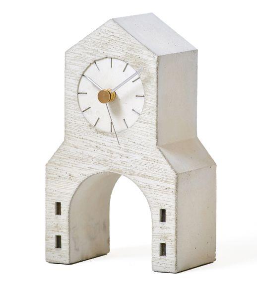 時計台をデザインしました! Lemnos レムノス 置き時計 Town Clock  NSP16-08