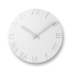 Lemnos レムノス掛け時計 CARVED / Roman (NTL10-19 B)