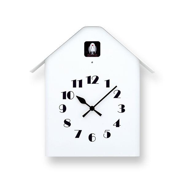 鳩時計 カッコー時計 カッコークロック Lemnos レムノス Dachs Cuckoo ホワイト RF17-03WH