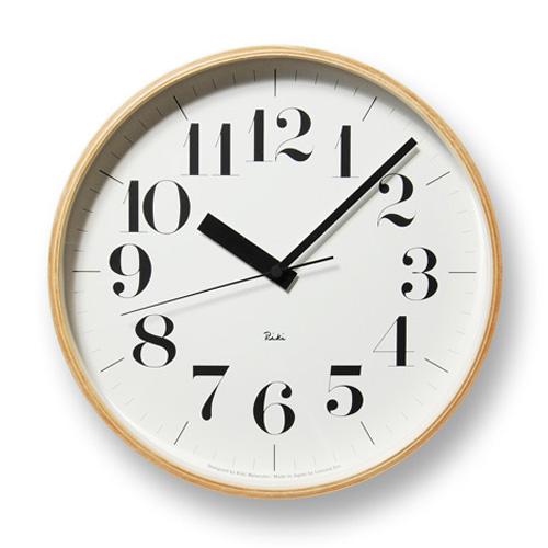 【Lemnos】レムノス 電波掛け時計 Riki CLOCK RC WR08-27 Lemnos掛け時計