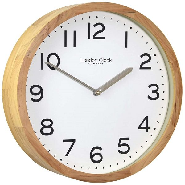 LONDON CLOCK ロンドンクロック掛け時計 London Clock Wood Wall Clock 01234 【送料無料】