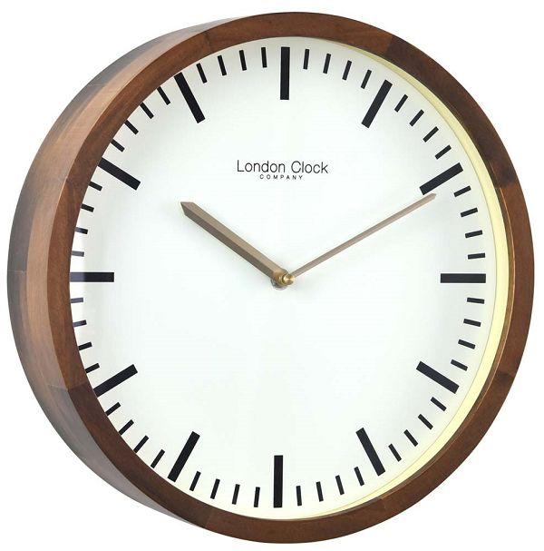 LONDON CLOCK ロンドンクロック掛け時計 London Clock Wood Wall Clock 01235 【送料無料】