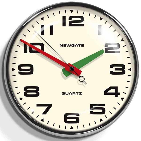 NEW GATEニューゲート掛け時計 Brixton Wall Clock Chrome BRIX392CH【送料無料】