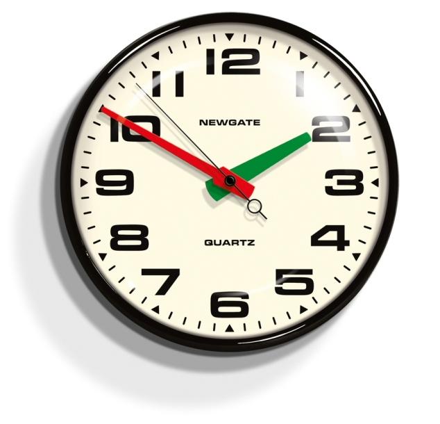 NEW GATEニューゲート掛け時計 Brixton Wall Clock ブラック BRIX392K【送料無料】