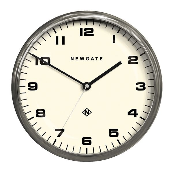 NEW GATEニューゲート掛け時計 Chrysler Wall Clock Burnished Steel CWC-BS【送料無料】