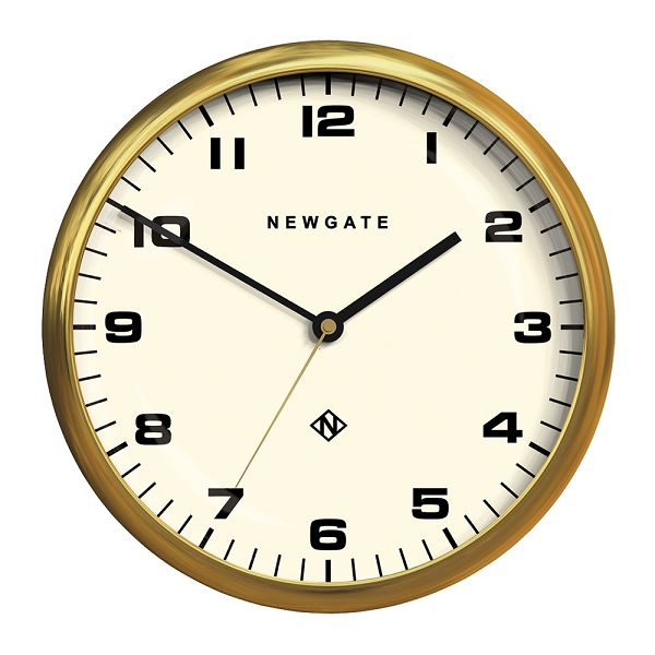 NEW GATEニューゲート掛け時計 Chrysler Wall Clock Radial Brass CWC-RB【送料無料】