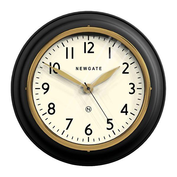 NEW GATE ニューゲート掛け時計 COOKHOUSE2 マットブラック COOK-MK 掛け時計 レトロな壁掛け時計 ニューゲート時計【送料無料】