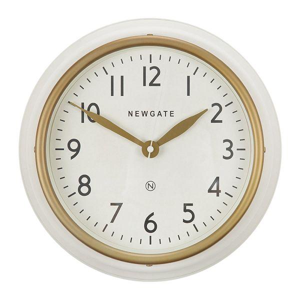 NEW GATE ニューゲート掛け時計 COOKHOUSE2 マットホワイト COOK-MW 掛け時計 レトロな壁掛け時計 ニューゲート時計【送料無料】