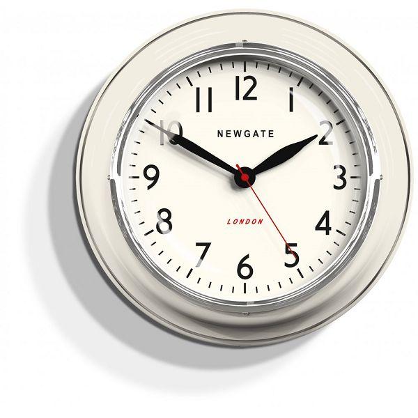NEW GATE(ニューゲート) COOKHOUSE クリーム COOK343LW 掛け時計 レトロな壁掛け時計【送料無料】