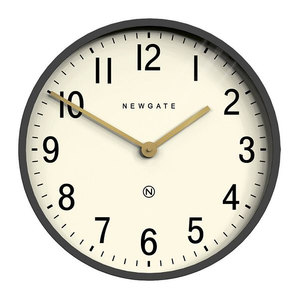 NEW GATEニューゲート掛け時計 Mr Edwards Wall Clock - Matt Blizzard Grey EWC-MBG【送料無料】