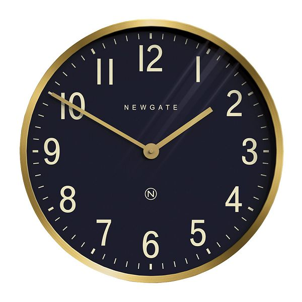NEW GATEニューゲート掛け時計 Mr Edwards Wall Clock - Radial Brass EWC-RBNV【送料無料】