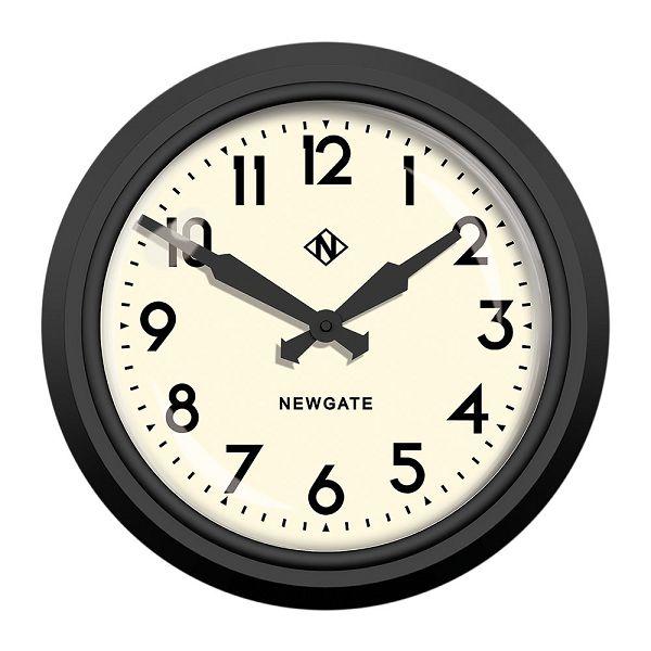 ニューゲート掛け時計 50's Electric マットブラック GWL12MK NEWGATE掛け時計【送料無料】【楽ギフ_のし】【楽ギフ_メッセ入力】【楽ギフ_名入れ】