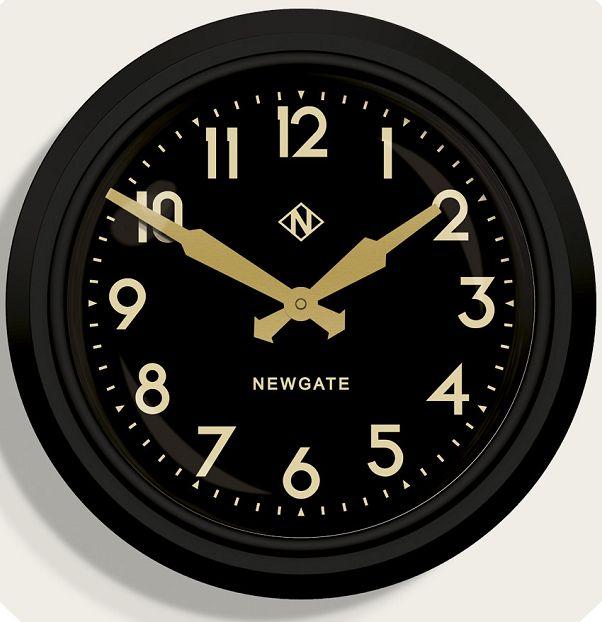 ニューゲート掛け時計 50's Electric マットブラック GWL15MK NEWGATE掛け時計【送料無料】【楽ギフ_のし】【楽ギフ_メッセ入力】【楽ギフ_名入れ】