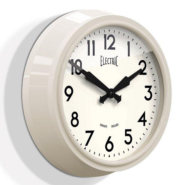 ニューゲート掛け時計 50's Electric クリーム GWL44SC NEWGATE掛け時計【送料無料】