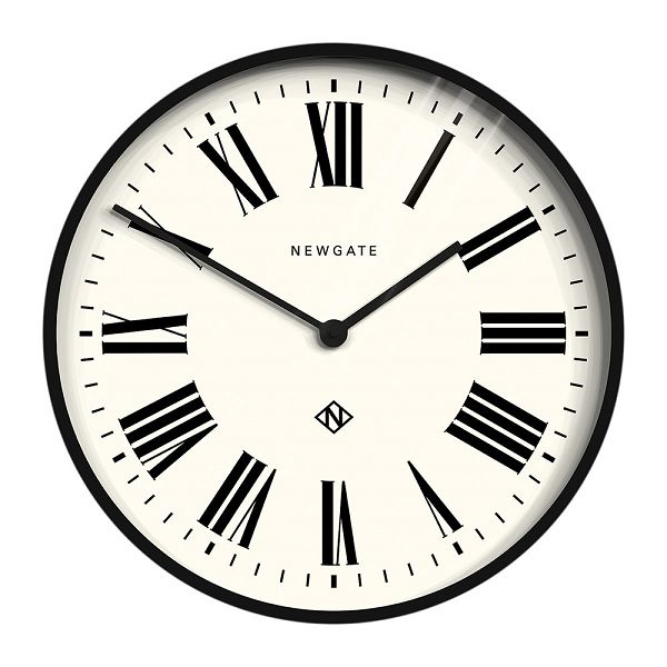 NEW GATEニューゲート掛け時計 Number One Italian Wall Clock - Black ITALIAN-BK【送料無料】