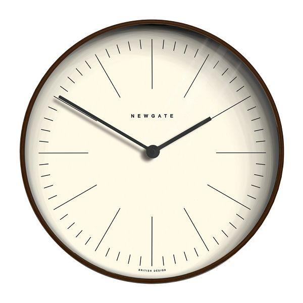 NEW GATEニューゲート掛け時計 Mr Clarke Clock Dark Wood Extra-Large Modern Plywood 53cm LMCC-DP53 ニューゲート時計【送料無料】