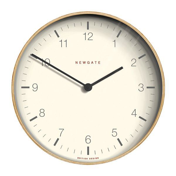 NEW GATEニューゲート掛け時計 Mr Clarke Clock Wood Extra-Large Modern Plywood 53cm LMCC-LP53 ニューゲート時計【送料無料】