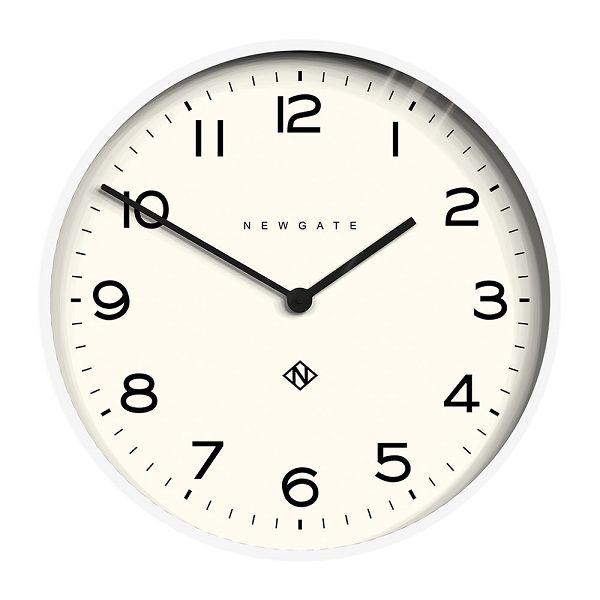NEW GATE ニューゲート掛け時計 Number One Echo Wall Clock - Pebble White φ530 NOEWC-WH ニューゲート時計【送料無料】