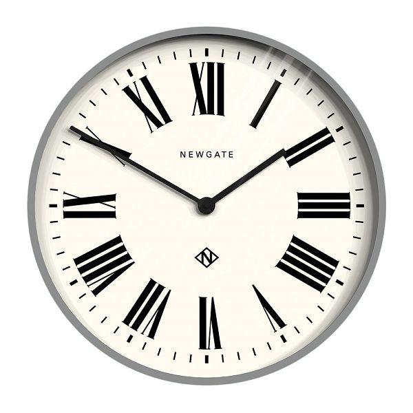 NEW GATEニューゲート掛け時計 Number One Italian Wall Clock - Posh Grey NOIWC-PG ニューゲート時計【送料無料】