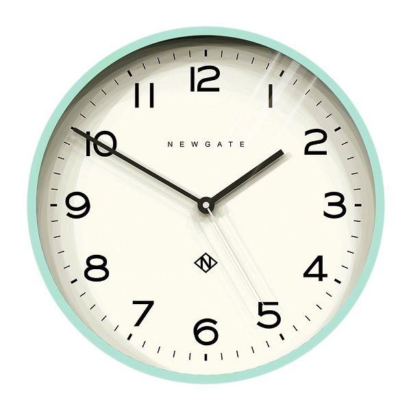 NEW GATEニューゲート掛け時計 Number Three Echo Wall Clock - Aquamarine NTEWC-AM ニューゲート時計【送料無料】