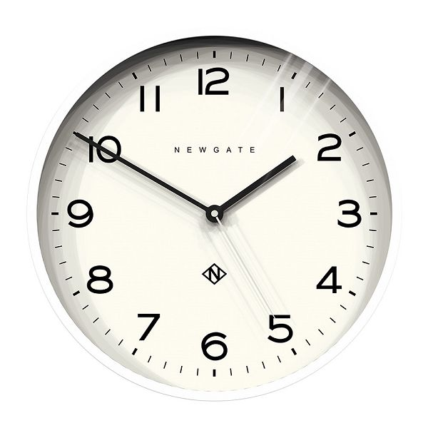 NEW GATEニューゲート掛け時計 Number Three Echo Wall Clock - White NTEWC-PW ニューゲート時計【送料無料】