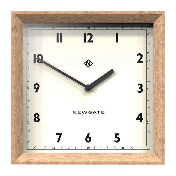 天然木とシンプルな文字盤がお洒落!NEW GATE(ニューゲート) Old Joe Wall Clock - Solid Oak OJWC-SO 掛け時計【楽ギフ_のし】【楽ギフ_メッセ入力】【楽ギフ_名入れ】