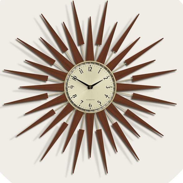 ニューゲートNEWGATE時計斬新なデザインで壁面を飾る ニューゲート掛け時計 SUNBURSTブラウン NEWGATE掛け時計 PLUTOG ご注文で当日配送 送料無料 楽ギフ_名入れ 楽ギフ_のし 商舗 楽ギフ_メッセ入力 ニューゲート時計