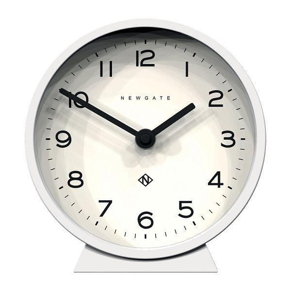 NEW GATE ニューゲート デスククロック 置時計 M Mantel Clock - Pebble White MMCDC-PW