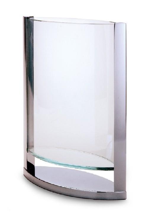 Philippi ガラスベース ディケード35cm 123054 Philippi 花瓶 送料無料