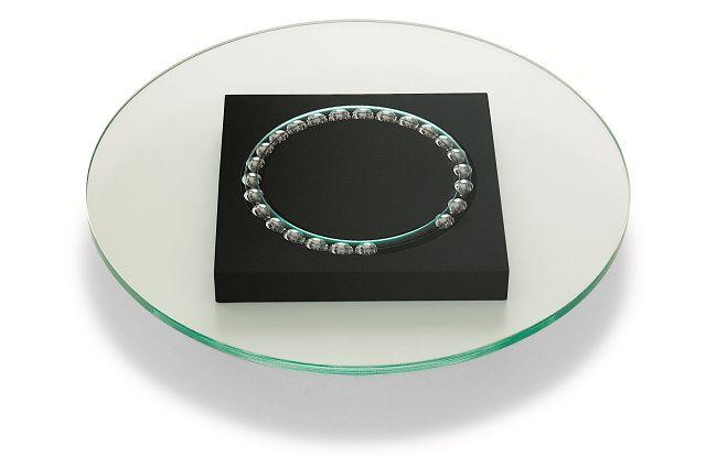 ガラスターンプレート 35cm Philippi 123087 ロータリーテーブル