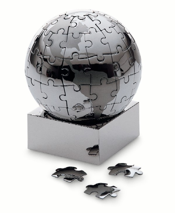 地球儀パズル φ7.5cm Philippi 136015