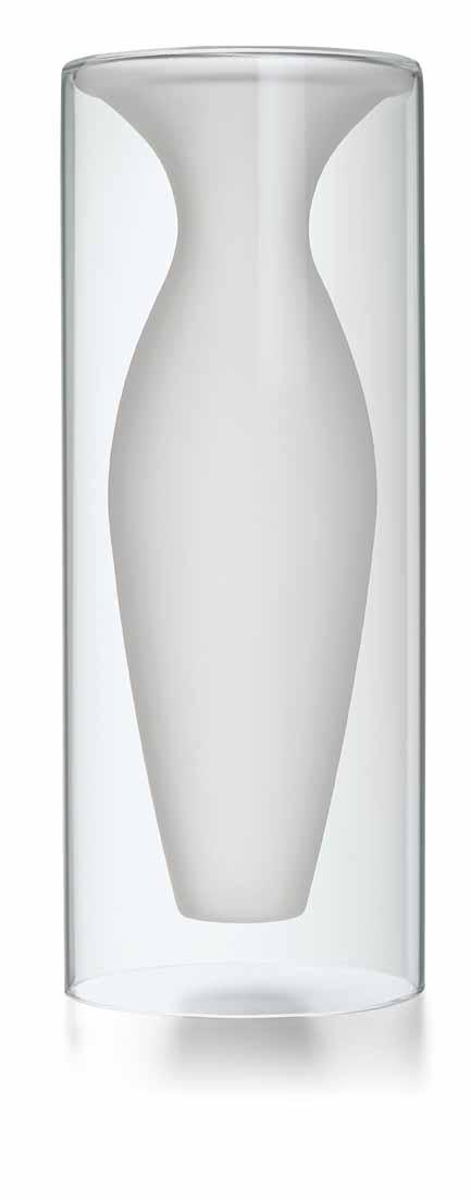 エスメラルダベースL Philippi 149004 ガラス花瓶 Vase